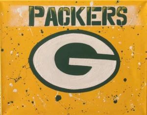 Packers freehand painting for Sale in Fort McDowell, AZ