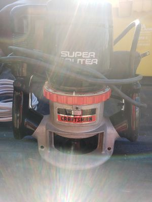 Craftsman super router for Sale in Oretech, OR