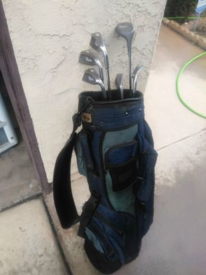 Golf Bag and Golf Clubs for Sale in Moreno Valley, CA