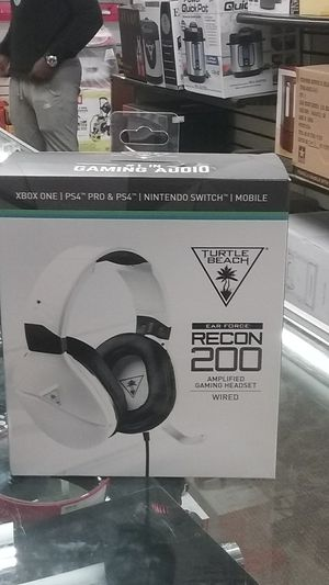 Turtle Beach ear force. Recon 200 amplified gaming headset wired $50.00 for Sale in Baltimore, MD