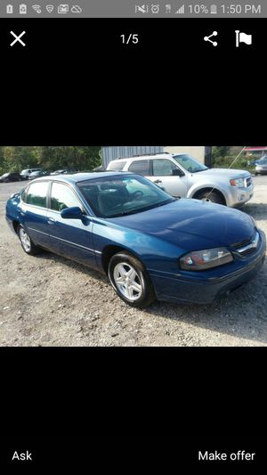 Chevy impala w/Clean title for Sale in Alexandria, VA