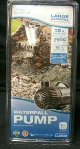 Brand New in box large total pond waterfall pump 3600 for Sale in Hayward, CA