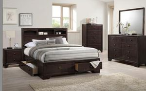 QUEEN STORAGE BED FREE DELIVERY for Sale in US