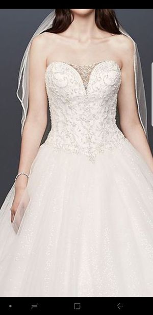 Brand new wedding dress/slips/veil for Sale in Alexandria, VA