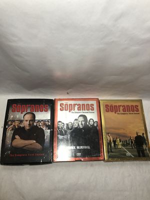 The Sopranos Seasons 1 - 3 DVD Box Sets Like New for Sale in Decatur, GA
