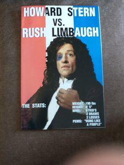 Howard Stern Versus RIP RUSH LIMBAUGH... for Sale in Monterey Park,  CA