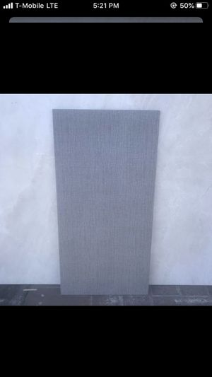 12x24 decorative wall/floor tile. Fabric texture. Indoor/outdoor. Porcelain for Sale in Hialeah, FL