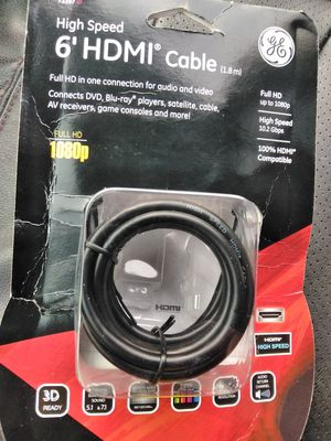 HDMI Cable for Sale in Waverly, VA
