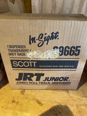 Scott junior jumbo roll tissue dispenser for Sale in Saugus, MA
