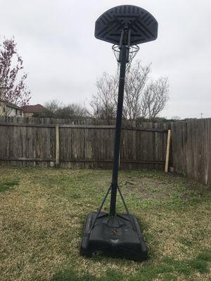 Adjustable Basketball hoop for Sale in Cedar Park, TX