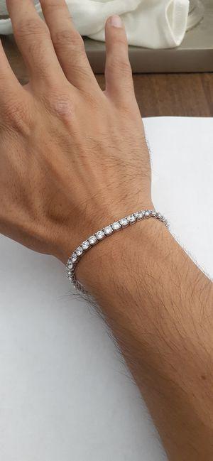 925 Sterling Silver Tennis Bracelet for Sale in West Palm Beach, FL