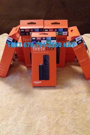 All New Unlocked Amazon Fire TV Stick w/ Voice+Volume Remote for Sale in Conley, GA