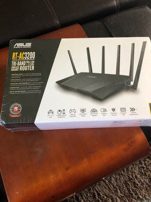 Asus RT-AC3200 Router for Sale in New Lenox, IL