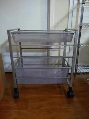Small metal storage cart for Sale in Alexandria, VA
