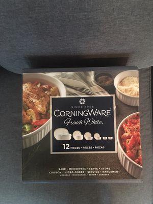New CorningWare French White for Sale in Phoenix, AZ