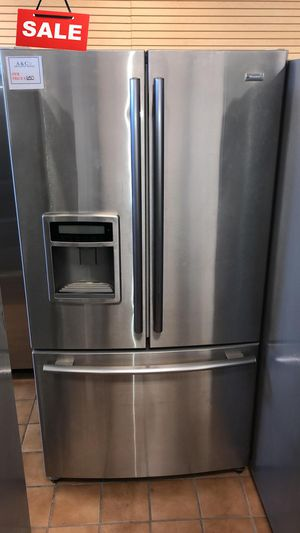 FIRST COME!!French Door 3-Door Refrigerator Fridge Kenmore Free Delivery #1533 for Sale in Silver Spring, MD