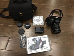 Canon EOS Rebel T6s DSLR Camera with 18-135mm Lens for Sale in South Riding, VA