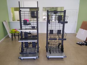 Rolling shelves with baskets to pieces for Sale in Thonotosassa, FL