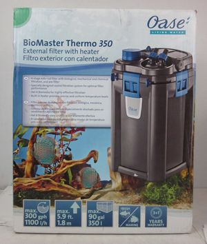 OASE BioMaster Thermo 350 External Canister Filter with Heater for Sale in Modesto, CA