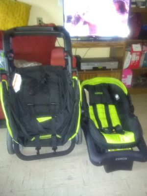 Stroller and car seat.have to go soon is like new have to go today for Sale in Watertown, NY