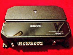 Car Amp, Kenwood KAC-5207, 500 watt for Sale in Spring, TX