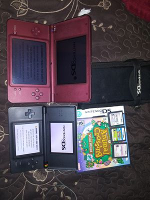 DS i XL and Ds lite. And 4 games for Sale in Turlock, CA