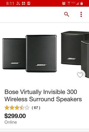 Bose surround speakers for Sale in Beaverton, OR