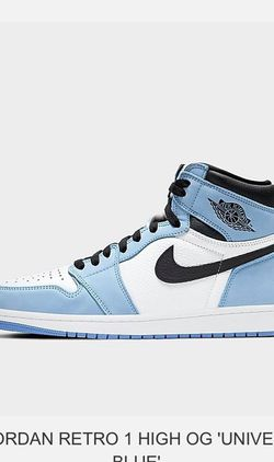 Jordan 1 University Blue Reserved Pair for Sale in Aurora,  IL