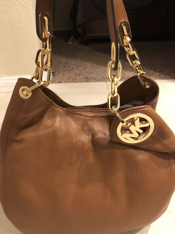 Michael Kors Brown Hobo