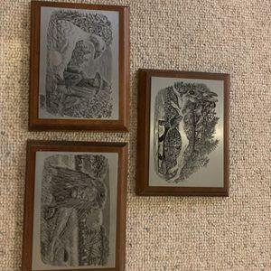 Registered, Engraved pewter Children's Fables for Sale in Harleysville, PA