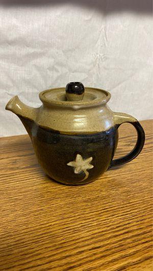 Rustic Clay Tea Pot for Sale in Alexandria, VA