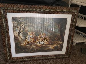 Large cheetah picture for Sale in Evansville, IN