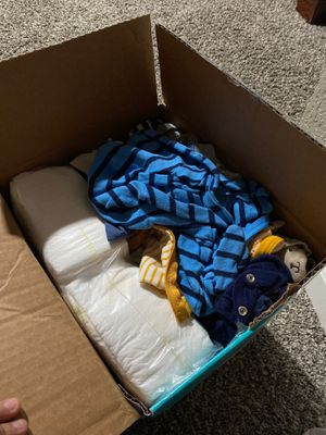 Newborn pampers & clothes for Sale in Colton, CA