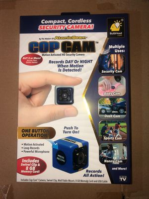 Cop Cam Security Camera for Sale in Los Angeles, CA