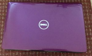 Purple Dell Computer 15 inch screen with charger for Sale in Roseville, MI