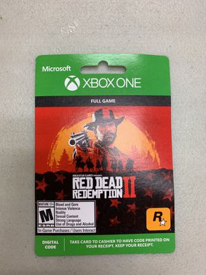 Xbox One Red Dead Redemption II for Sale in Severn, MD