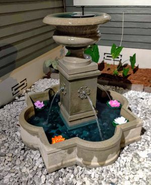 Cement Fountain with pumps for Sale in Tampa, FL