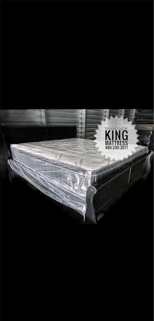 New King Size Mattress and Box Spring for Sale in Scottsdale, AZ