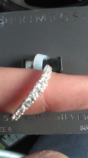 Sterling silver cz for Sale in Stockton, CA