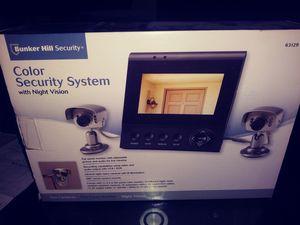 Two cameras. Flat panel monitor night vision..2 camaras con monitor a color for Sale in Vernon, CA