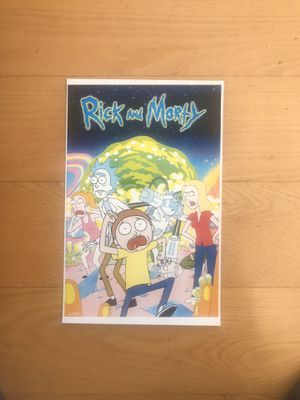 Rick And Morty 11 x 17 Poster for Sale in La Mesa, CA