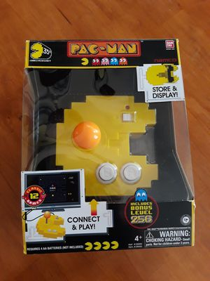Pacman joystick retro game *LIKE NEW* *SUPER FUN* *256 LEVELS* *12 CLASSIC GAMES* for Sale in Carlsbad, CA