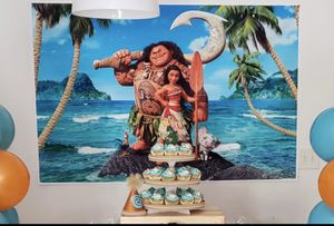 Moana Backdrop for Sale in Kissimmee, FL