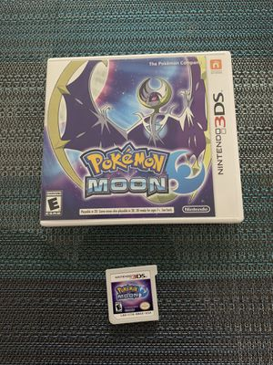 Pokemon Moon - Nintendo 3DS Like New for Sale in Miramar, FL