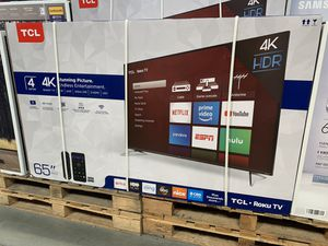 "65"" TCL ROKU TV ONLY $39 DOWN for Sale in Bakersfield, CA"