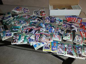 Lot4 baseball cards box for Sale in San Diego, CA