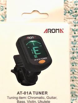 Guitar Chromatic Tuner New in box for Electric, Bass, Acoustic Guitars, also for Ukulele, Banjo, Violin. for Sale in Pomona,  CA