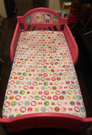 Hello Kitty toddler bed for Sale in Philadelphia, PA