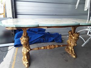 Antique Marble Table for sale for Sale in Las Vegas, NV