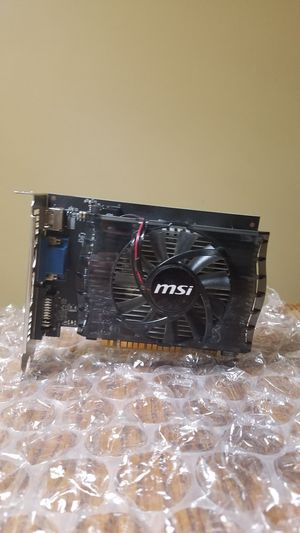 Working MSI Geforce Gt 730 for Sale in Pekin, IL